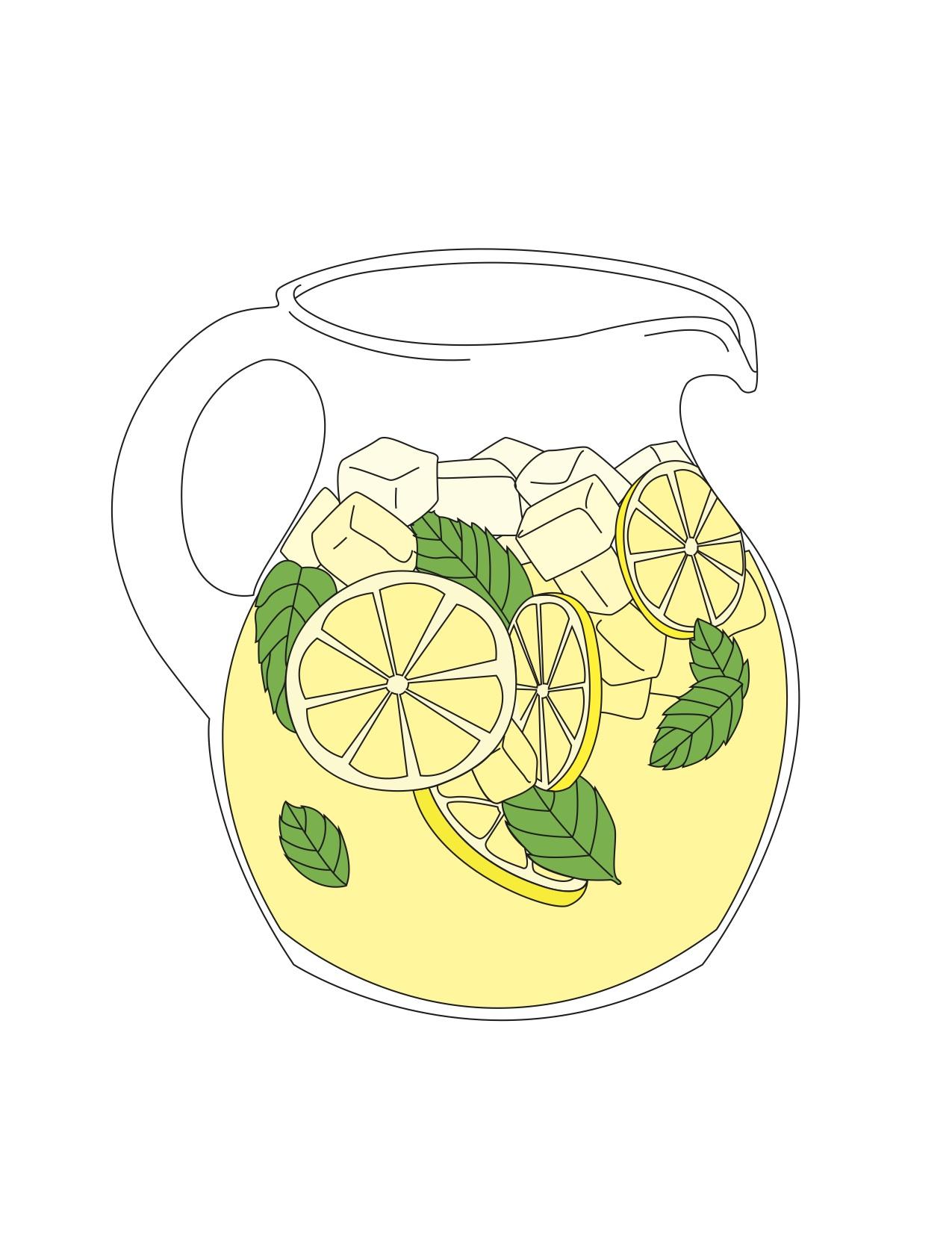 lemonade pitcher - photo #24